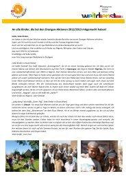 Dankeschön-Brief Orangenaktion - ejw - Evangelisches Jugendwerk ...