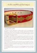 Exclusive, handgearbeitete Leder- und ... - DONA ANdrea de - Seite 2