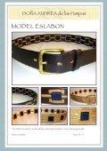 Exclusive, handgearbeitete Leder- und ... - DONA ANdrea de - Seite 6