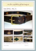 Exclusive, handgearbeitete Leder- und ... - DONA ANdrea de - Seite 7