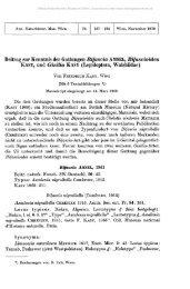 Beitrag zur Kenntnis der Gattungen Bifascia AMSEL, Bifascioides ...