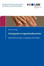 Schutzgrade im Jugendmedienschutz - Nomos