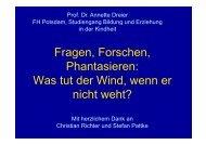 Vortrag Frau Prof. Dreier