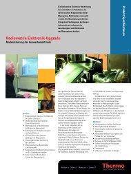 Radiometrie Elektronik-Upgrade