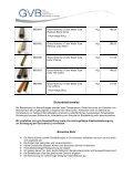 Boromax Rohr ACHTUNG: Durchmesser, Wandstärke und ... - GVB - Page 2