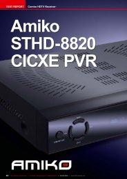 TEST REPORT Combo HDTV Receiver - Satmedia