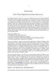 Basic Global English für deutschsprachige Lerner - Joachim Grzega