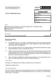 Beschlussvorlage - Vorlage V/0848/2006