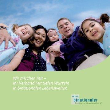 Wir mischen mit - Verband binationaler Familien und Partnerschaften