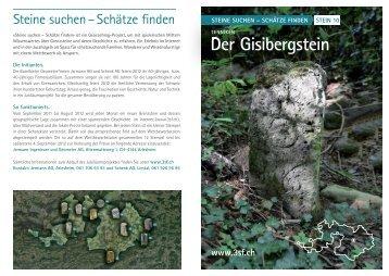 Flyer Nr. 10 - Steine suchen – Schätze finden