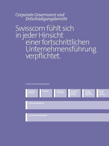 Corporate Governance und Entschädigungsbericht(PDF, 889 kB)
