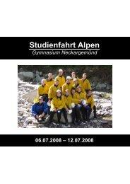 der komplette Bericht im PDF-Format - Gymnasium Neckargemünd