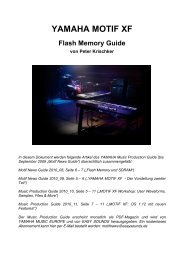 XF Flash Guide - Easy Sounds