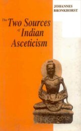 The Two Sources of Indian Asceticism - Wat Florida Dhammaram