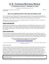 Construction spending - U.S. Census Bureau