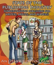 state of the publishing Industry - The Otaku Survival Guides