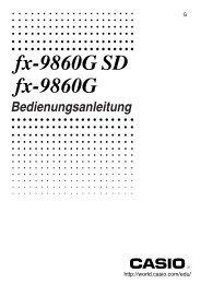 fx-9860G SD fx-9860G - Download Instructions Manuals