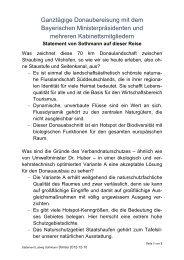 machte Ludwig Sothman in seinem Statement klar (pdf) - LBV