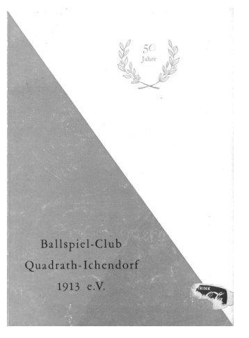 1963 - 1.FC-Quadrath-Ichendorf