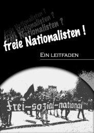 Freie Nationalisten - Ein Leitfaden - Aktionsbüro Rhein-Neckar