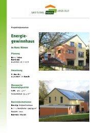Steckbrief - Sentinel Haus Institut