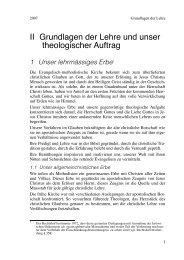 II Grundlagen der Lehre, Layout 1 - Evangelisch-methodistische ...
