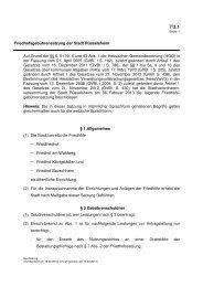 Friedhofsgebührensatzung der Stadt Rüsselsheim Auf Grund der ...