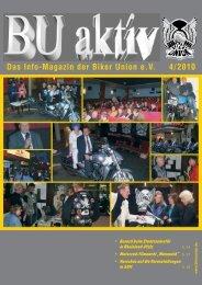 Das Info-Magazin der Biker Union eV 4/2010