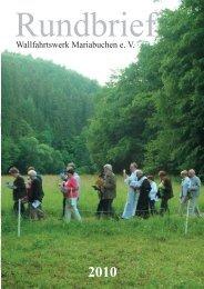 Rundbrief 2010 v osx v3 - Mariabuchen
