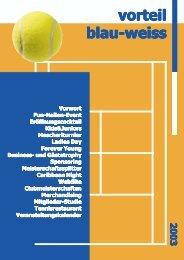 vorteil blau-weiss blau-weiss blau-weiss blau-weiss - Tennisclub ...