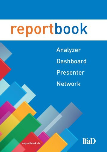 reportbook Analyzer, Dashboard, Presenter, Network - IfaD