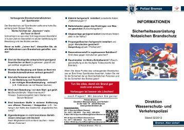 wv14 notzeichenpdf 176 kb polizei bremen - Polizei Bremen Bewerbung
