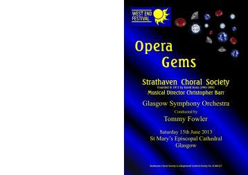 here - Strathaven Choral Society
