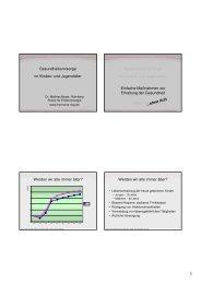 Praevention im Kindes- und Jugendalter - Praxis für Endokrinologie ...