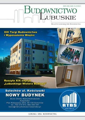 biuletyn 10 - Lubuska Izba Budownictwa