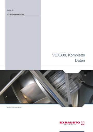 VEX308, Komplette Daten