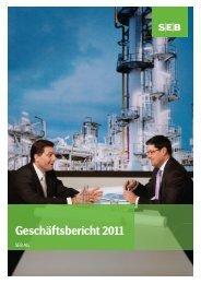 Geschäftsbericht 2011 (PDF, 4.92 MB) - SEB