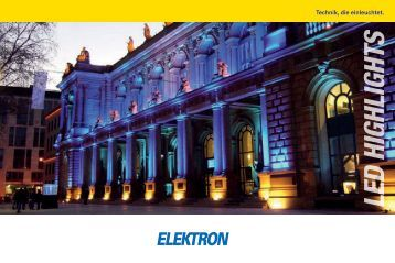LED HIGHLIGHTS - Elektron AG