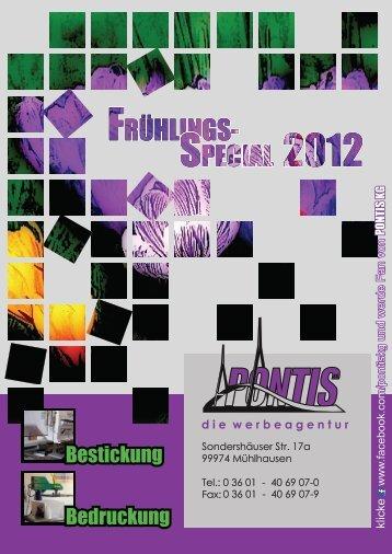 Bestickung Bedruckung - Textilbude.de