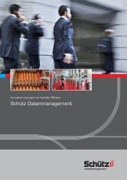 Schütz Datenmanagement - Schütz PTS