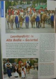 Leonhardirit in Alta Badia — Gaertal