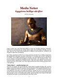 MEDU NETER - EGYPTENS HELLIGE SKRIFTER - Visdomsnettet - Page 3
