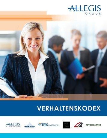 VERHALTENSKODEX - Allegis Group