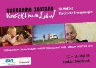 12. – 14. Mai 09 Leokino Innsbruck FILMreIhe Psychische ...