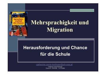 Mehrsprachigkeit und Migration