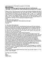 Satzung für den bebauten Bereich im ... - Stadt Dormagen
