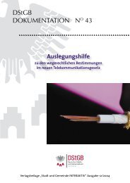 DStGB-Dokumentation Nr. 43 - Deutscher Städte- und Gemeindebund