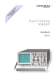 Oszilloskop HM507 - Home.hs-karlsruhe.de