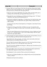 Abitur 2003 Stochastik II 1. Im Januar 2002 war in einer Zeitung zu ...