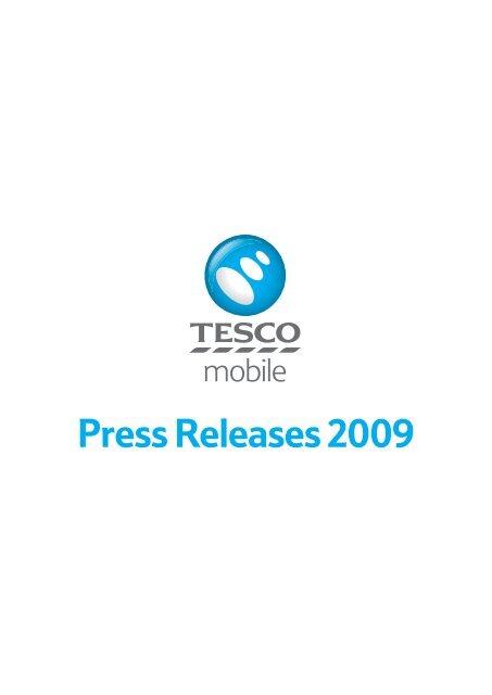 Press Releases 2009 - Tesco Phone Shop